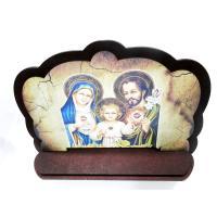 2172 - Porta Bíblia em Madeira Dupla Mdf 38 x 28 cm