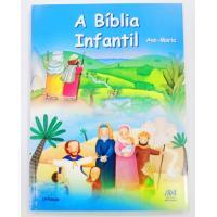 2116 - Bíblia Infantil Ilustrada   - Ave Maria - Capa Brochura
