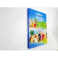882 - Bíblia Infantil Ilustrada - Ave Maria - Capa Dura