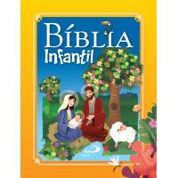 518 - Bíblia Infantil Ilustrada Capa Dura - Paulus