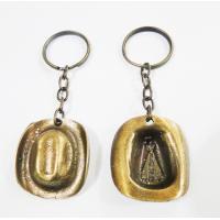 925 - Chaveiro Metal Chapéu Ouro Velho Com Imagem Aparecida