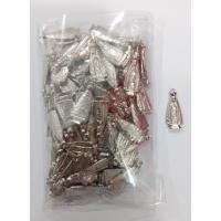 1509 - Imagem em Metal 2,5 cm N. Sra Aparecida de Bolso. Venda com 25 Unidades. R$ 0,58 a Unidade.
