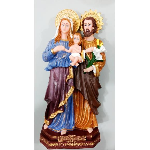 c7493f57ac0 2268 - Imagem em Resina Sagrada Família em Pé 30 cm