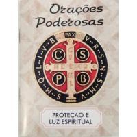 2209 - Livro Orações Poderosas - Proteção e Luz Espiritual. Venda com 3 Unidades. R$ 2,98 a Unidade.