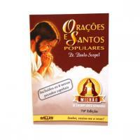 915 - Livro Orações E Santos Populares - Pe. Paulo Scopel