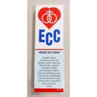 322 - Marca Página do ECC (Encontro de Casais com Cristo) com 50 Unidades. R$ 0,25 a Unidade.