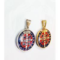 2326 - Medalha Resinada de São Bento Média 2,5 cm. Venda com 6 Unidades. R$ 4,80 a Unidade.